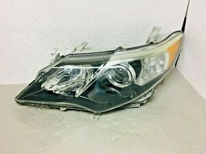 Oem 2012 2013 2014 Toyota Camry Se Left Lh Driver Headlight Damaged