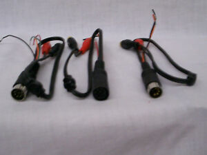 Vintage Alpine Car Stereo Radio Amplifier Equalizer Din To Rca Adapters New