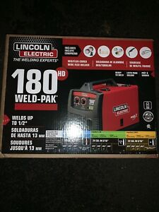 Lincoln Electric Weld Pak 180 Hd Amp Mig Wire Feed Welder K2515 1 180hd New