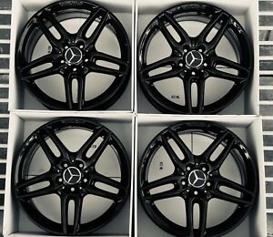 18 Mercedes Cla Amg Wheels Rims Factory Oem Original Cla250 85530a 1764010700