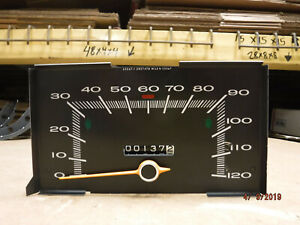 Blem 68 70 Plymouth A body 120 Mph Speedometer Dodge Dart Valiant Duster Scamp