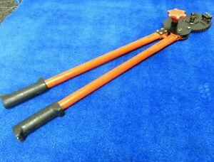 Klein Tools Ratchet Cable Cutter shear Cut 28 63700 japan