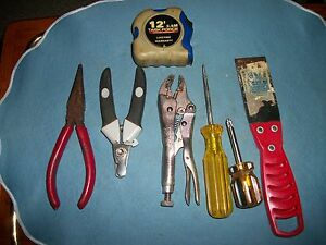 Lot Of 7 Missalanious Shop Tools