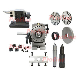 Bs 1 Semi Universal Dividing Head Spindle Tailstock Milling Mill Set