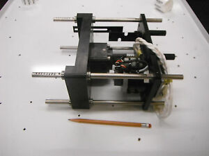 Stepper Driven Lift Table W Ball Screw Limit Switches Encoder 4557 Video