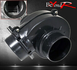 Universal 75mm 3 Induction Air Intake Electric Turbo Supercharger Fuel Saver