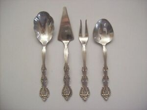 International Silver Company Mini Hostess Set Interlude 4 Pcs