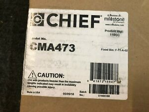 Chief Cma473 Plenum Rated Storage Box Cms440 Cma440 Above Tile Suspended Ceiling