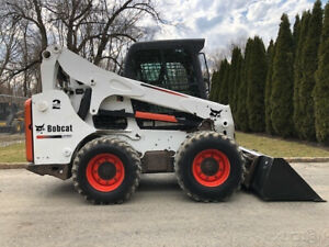 2012 Bobcat S750 Rubber Tire Skid Steer Loader Cab Ac 2 Speed Wheel Bob Cat