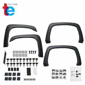For 07 14 Chevy Silverado Oe Style 4pcs Front rear Paintable Wheel Fender Flares