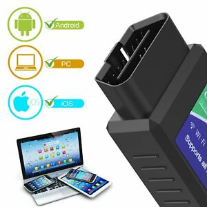 Wireless Wifi Obd2 Obdii Car Diagnostic Code Reader Scanner Tool