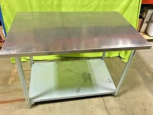 Green World 48 X 30 Stainless Steel Work Table Prep Table Tsw 3048s