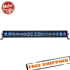Rigid Industries Radiance 30 Led Light Bar With Blue Backlight 230013