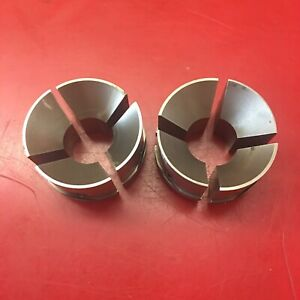 Hardinge 1 3 16 S 26 Round Collet Pad Set lot Of 2 Sets