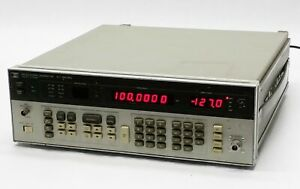 Hp Agilent 8656a Programmable Signal Frequency Generator 0 1 990mhz Parts