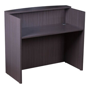 4 Ft Mini Reception Desk For Small Office Space Free Shipping