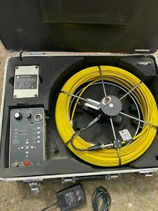Video Snake Pipe And Wall Inspection Camera Model 3188dtx 130
