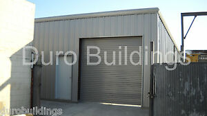 Durobeam Steel 26x42x12 Metal Garage Workshop Diy Home Barn Building Kit Direct