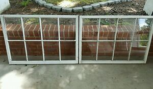Vintage Sash Antique Wood Window Unique Frame Pinterest Wedding Set Of 2 40x27