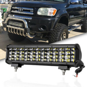 12inch 288w Osram Led Light Bar Flood Spot Combo For Offroad Ute Boat 4x4wd Ford