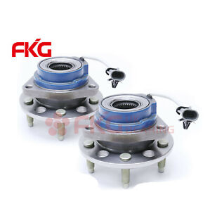 Pair 2 Wheel Hub Bearing Assembly Set Fits 00 13 Chevrolet Impala W abs 513179