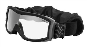 Bolle 40132 Black X1000 Clear Anti Scratch Anti Fog Tactical Safety Goggles