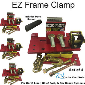 Easy Too Clamps Frame Anchoring Fits Chiefs Bar System