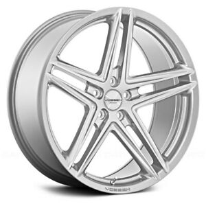 4 20x10 5 Vossen Vfs5 Gloss Silver 5x112 30 Wheels Car Suv