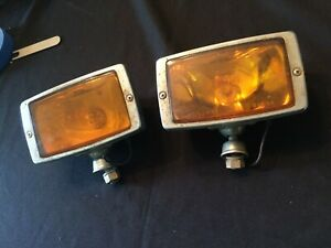 Vintage Turn Signal Lamp Assembly Unknown Fit Maybe Truck Iodine 1064