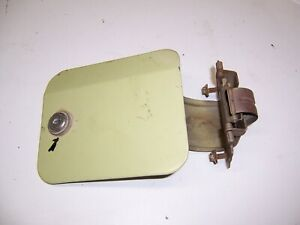 1964 1965 1966 Thunderbird Hardtop Landau Convertible Orig Gas Fuel Filler Door