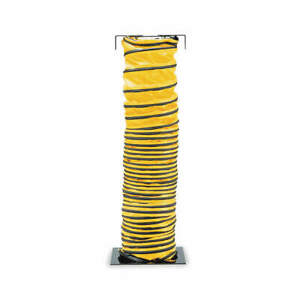 Allegro Blower Ducting 25 Ft Black yellow 9550 25 Confined Space 3pal6 Nib