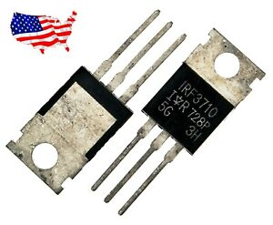 Irf3710 5 Pcs 57a 100v To 220ab Power Mosfet From Usa