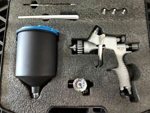 Professional Spray Gun With Case For Satajet Iwata Devilbiss Users
