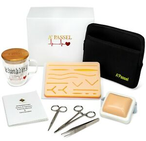 Suture Practice Kit Includes Suturing And Injection Pad For Training Gift Boxed
