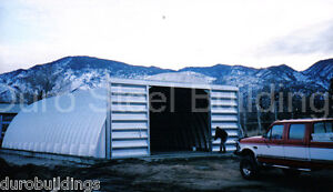 Durospan Steel 37x52x15 Metal Quonset Building Kit Arch Structure Factory Direct