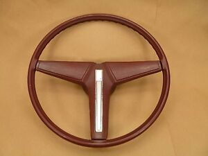 Pontiac Grand Prix Steering Wheel Red 3 Spoke