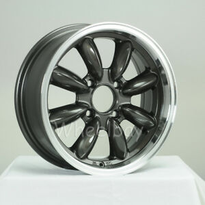 4 Rota Wheel Rb 15x7 4x114 3 12 Royal Gunmetal Big Cap Datsun Last Set