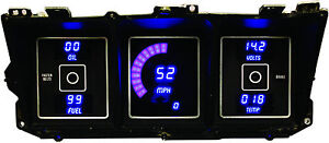 1973 1979 Ford Truck Digital Dash Panel Blue Led Gauges Made In The Usa