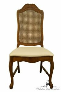 Bernhardt Furniture French Provincial Cane Back Dining Side Chair 118 521 W