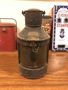 Antique Meteorite Ships Lantern Signal Lamp Light Nautical Maritime Boat Decor