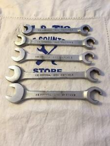 Cornwell Tools Usa 5pc Flare Nut Line Wrench Set Cwf Series