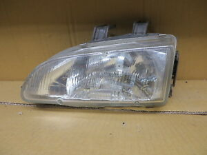 Honda Civic 92 93 94 95 1992 1993 1994 1995 Headlight Driver Lh Left Oem