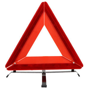 3 Pcs Car Triangle Safety Warning Parking Sign Reflective Foldable Road Safety