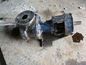 Viking Pump Stainless Tag Not Readable Ports 2 4171010c Used