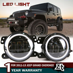 4 Inch Fog Light Bumper Lamp Driving Led Light For 2011 13 Jeep Grand Cherokee