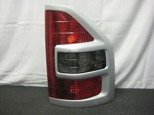 2001 2002 Mitsubishi Montero Right Hand Passenger Side Tail Light Taillight Grey