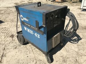 Miller Shopmaster 300 Ac dc Cc cv Welding Power Source