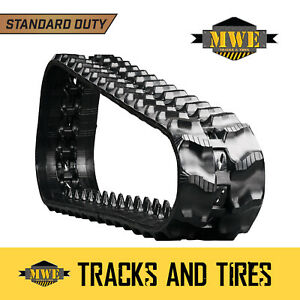 Fits Ditch Witch Sk500 7 Tnt Standard Duty Ctl Rubber Track