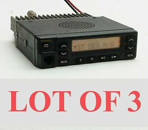 Lot 3 Kenwood Tk 880 1 Ver2 0 Uhf Fm Transceiver 450 490mhz 25w Mobile Radio
