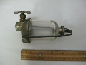 Tillotson Glass Gas Filter nos As Pictured